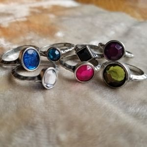 Urban Outfitters stackable rings
